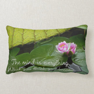 Buddha Quote Lumbar Cushion