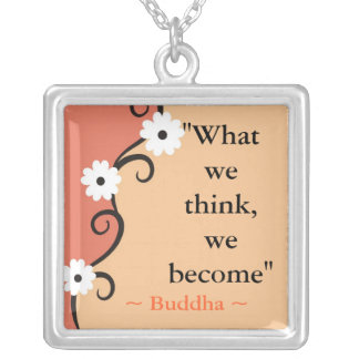 Buddha Quote Pendant
