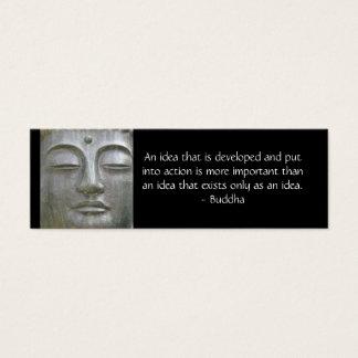 Buddha Quote Profile Card