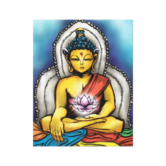 Buddha's Hope - Matthew Fletcher Gallery Wrap Canvas
