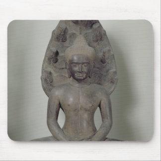 Buddha seated in meditation on the Naga, Angkor Mouse Mat