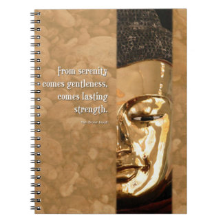 Buddha Serenity Gentleness Strength Journal