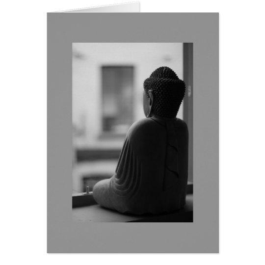 Buddha Sitting in Meditation Greeting Card