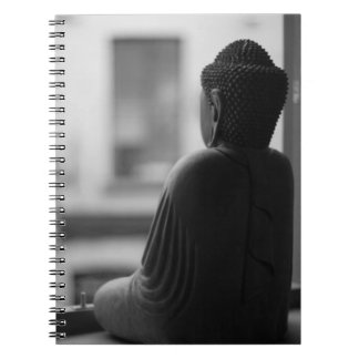 Buddha Sitting in Meditation Spiral Notebook