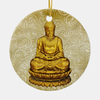 Buddha - SRF Christmas Ornament