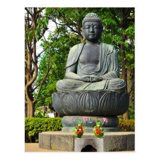 Buddha statue in Tokyo, Japan Postcard