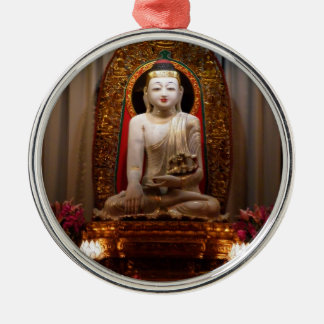 Buddha Statue  Lotus position Tibetan Christmas Ornament