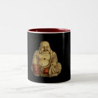 Buddha Statue Two-Tone Coffee Mug