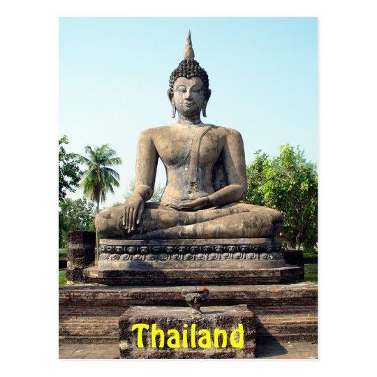 Buddha Sukhothai Thailand Postcard