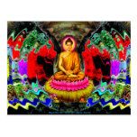 Buddha Swirl - Postcard