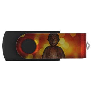 Buddha Swivel USB 2.0 Flash Drive