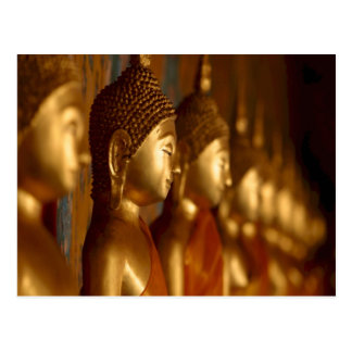 Buddha Thailand Peace Tranquility Serenity Postcard