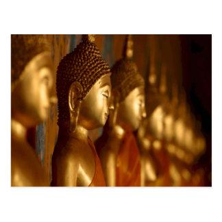 Buddha Thailand Peace Tranquility Serenity Postcard