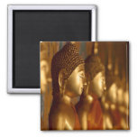 Buddha Thailand Peace Tranquillity Serenity Square Magnet