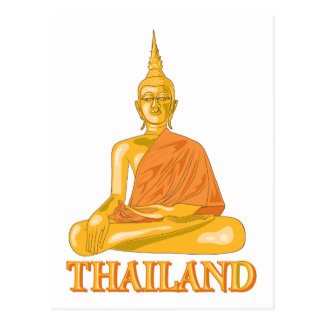 Buddha Thailand Postcard