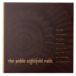 Buddha: The Noble Eightfold Path, tile