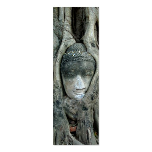 Buddha Tree Bookmark Business Cards