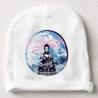 Buddha Tropical Mountain Wave Baby Beanie