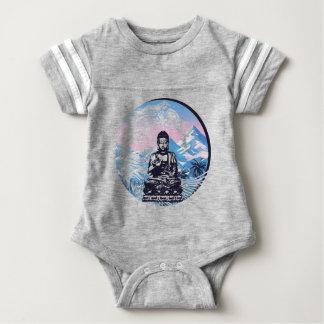 Buddha Tropical Mountain Wave Baby Bodysuit