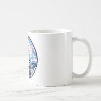 Buddha Tropical Mountain Wave Coffee Mug
