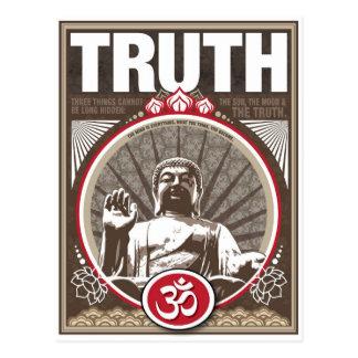 Buddha TRUTH Postcard