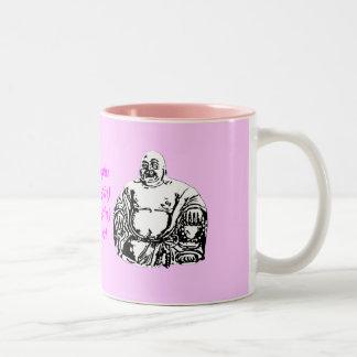 buddha Two-Tone coffee mug