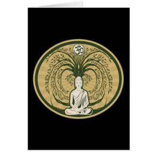 Buddha Under the Bodhi Tree Card