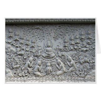 Buddha under the Bodhi tree Card