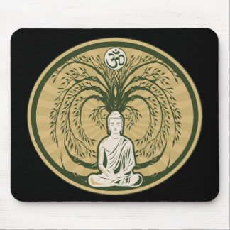 Buddha Under the Bodhi Tree Mouse Mat
