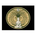 Buddha Under the Bodhi Tree Postcards