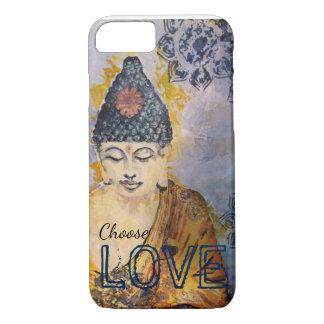 Buddha Watercolor Choose Love iPhone 5 Case