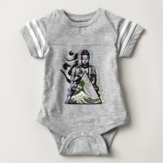 buddha wave 2 baby bodysuit