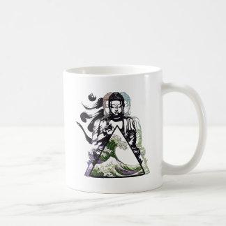 buddha wave 2 coffee mug