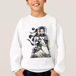 buddha wave 2 sweatshirt