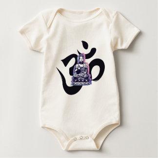 buddha wave 3 baby bodysuit