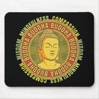 Buddha Wisdom Mouse Mat