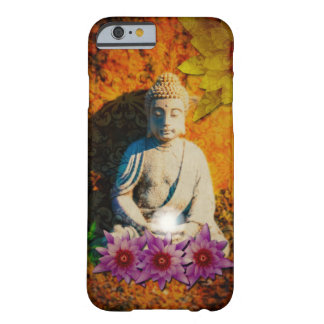 Buddha with purple lotus barely there iPhone 6 case