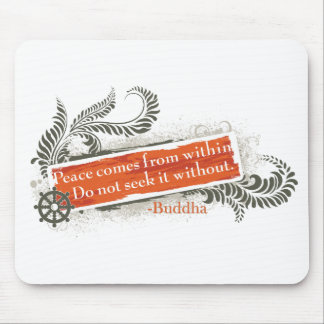 Buddha Within and Without Mouse Pad