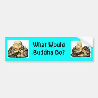 Buddha wwbd Bumper Sticker