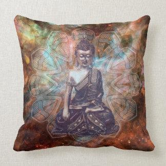Buddha Zen Spiritual Enlightenment square pillow