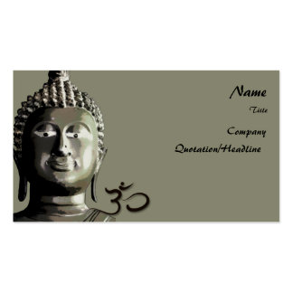 Buddhas Business Card, Holistic Healers Pack Of Standard Business Cards