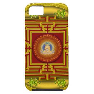 Buddha's Golden Puzzle Box Circular Mandala Design iPhone 5 Cover