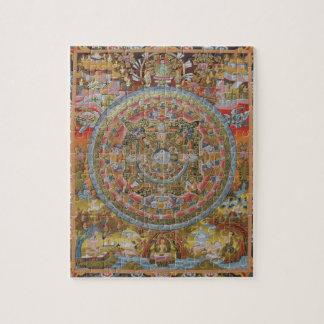 Buddha's Life Mandala Puzzle