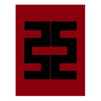Buddhism: Double Ax Postcard