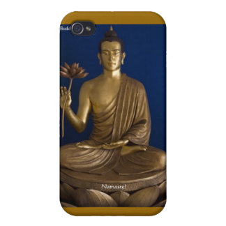 """Buddhism """"Namaste"""" Gifts Mugs Cards Etc Covers For iPhone 4"""