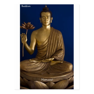 "Buddhism ""Namaste"" Gifts Tees Mugs Cards Etc Postcard"