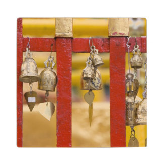 Buddhist Bells at Doi Suthep Temple Wood Coaster