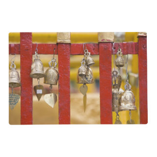 Buddhist Bells at Doi Suthep Temple Laminated Place Mat