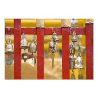 Buddhist Bells at Doi Suthep Temple Photograph