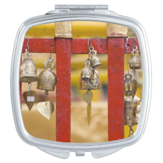 Buddhist Bells at Doi Suthep Temple Compact Mirrors